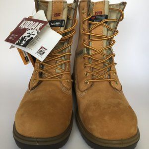 "PROWORKER 8"" Lace-Up Steel Toe Work Boots/Sz.14"